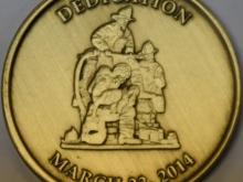 AFFM Challenge Coin (Back)